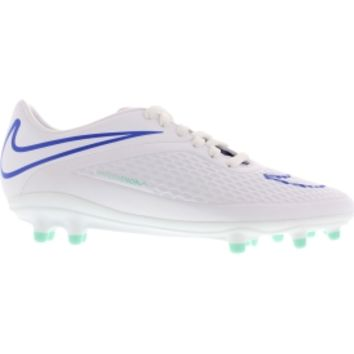Nike Women's Hypervenom Phelon FG Soccer Cleat - White/Blue | DICK'S Sporting Goods