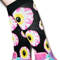 Mishka Keep Watch Socks Black One