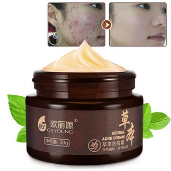 Herbal Whitening, Acne, Scar, Pimple & Blackhead Removal Cream