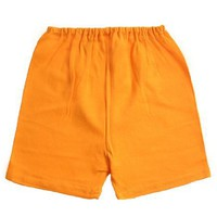Zutano Primary Solid Shorts ~ Orange