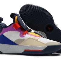 Air Jordan XXXIII Basketball Shoes - Seven Colorful