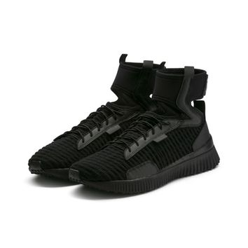 FENTY Trainer Mid Sneakers | Puma Black-Puma White | PUMA Shoes | PUMA United States