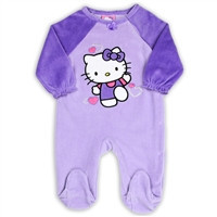 HELLO KITTY Girls Newborn Footed-hk5743