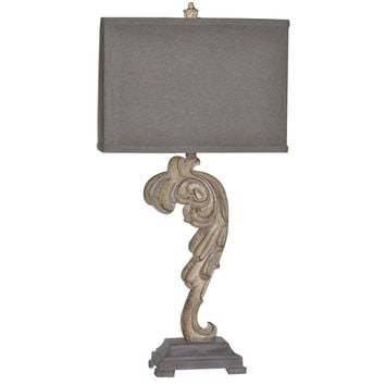 Crestview Collection Cvaup866 Selena Table Lamp