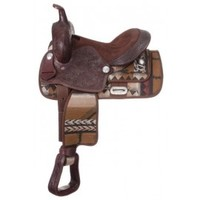 JT International Calico Neutron Saddle KS1403-190-13 by Jt International  for $231.00  : Rural King