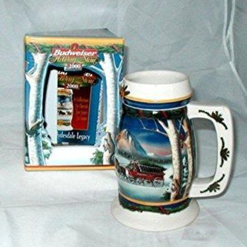 Budweiser 2000 Holiday in The Mountains Stein