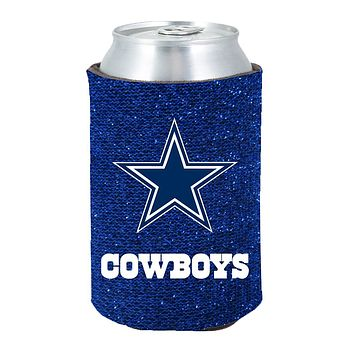 Dallas Cowboys Kolder Kaddy Can Holder - Glitter
