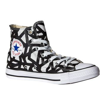 Converse Unisex Chuck Taylor All Star High Top Casual Sneakers In Classic Style And Color And Durable Canvas Uppers