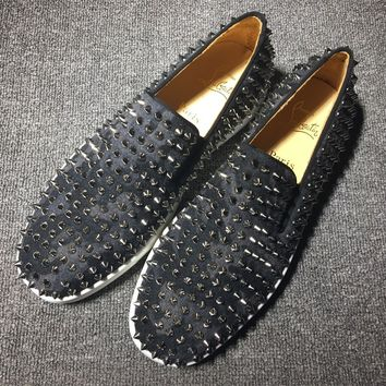 Christian Louboutin Cl Roller Boat Sneakers Reference 5 - Best Online Sale