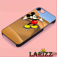 """mickey skateboard for iphone 4/4s/5/5s/5c/6/6+, Samsung S3/S4/S5/S6, iPad 2/3/4/Air/Mini, iPod 4/5, Samsung Note 3/4 Case """"007"""""""