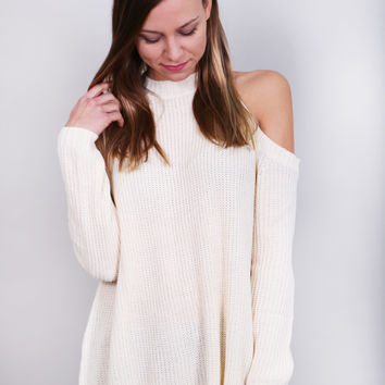 Head In The Clouds Sweater {Cream}