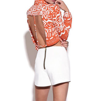 Nameless Tribal Cutout Shirt at PacSun.com
