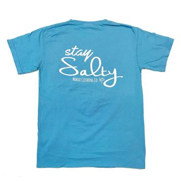 Stay Salty Pocketed Tee