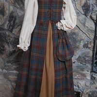 Heirloom Quality, Girl's 4-piece Highland Outfit (Size 10)