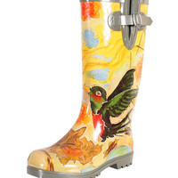 Nomad Footwear Hummingbird Friends Puddles III Rain Boot | zulily