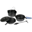 Stansport 6-piece Iron Cook Set