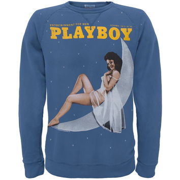 Playboy - Moon Pin-Up Crewneck Sweatshirt