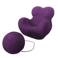 Gaetano Pesce's UP5 Chair and UP6 Ottoman for B&B Italia