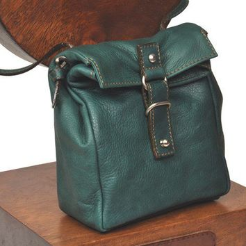 A small pursemessenger bagSugar in Green Abete by iyiamihandbags