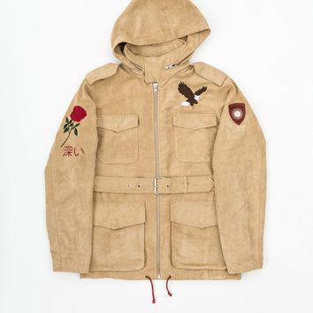 Belted Eagle Polysuede Field Jacket