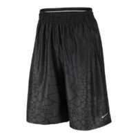 Nike LeBron Tamed Allover-Print Men's Basketball Shorts Size Small (Grey)