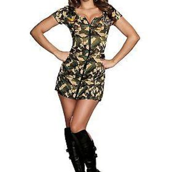 Womens Army Doll Costume