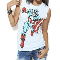 Captain America Tank | Shop Just Arrived at Wet Seal