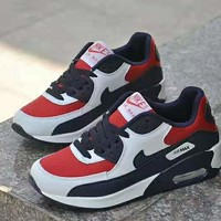 """""""Nike Air Max 90"""" Casual Sport Lover Unisex  Multicolor Air Cushion Sneakers Running Shoes"""