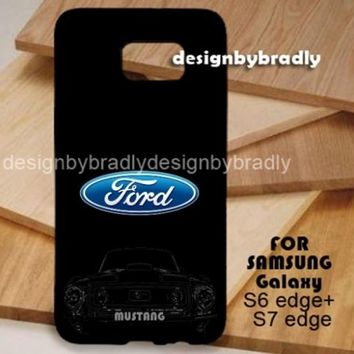 Ford Mustang Logo For All type Samsung and iPhone Case Hard Plastic