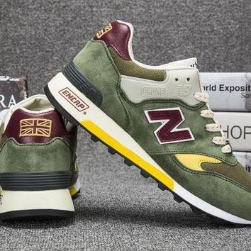 DCCK8NT cxon new balance nb577 green for women men running sport casual shoes sneakers
