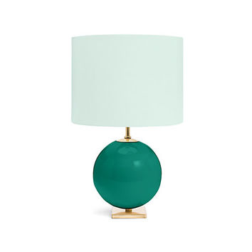Kate Spade Elsie Table Lamp Turquoise/Aqua ONE