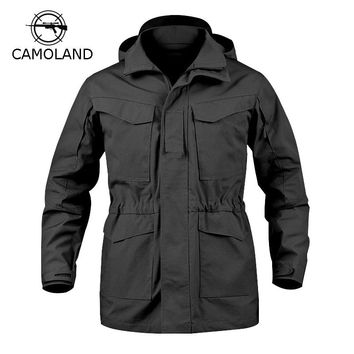 4 Colors Tactical Jacket Men M65 Coat Male Parka Winter Windbreaker Military Clothes Autumn  Army Field Jacket Male Clothing