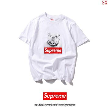 2017 New Fashion  Supreme T Shirts Short Sleeved For Men 316077