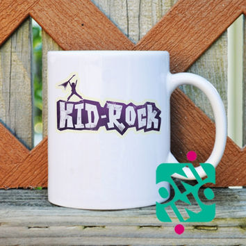 Kid Rock Coffee Mug, Ceramic Mug, Unique Coffee Mug Gift Coffee
