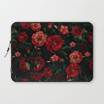 RED NIGHT Laptop Sleeve by VS Fashion Studio