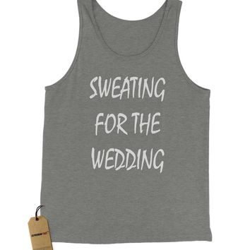 Sweating For The Wedding Jersey Tank Top for Men