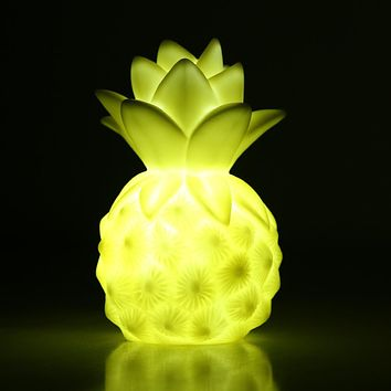 Mini LED Light Up Toy Pineapple Table Lamp Light Romantic Night Lamp LED Sleep Light Toy Christmas Decoration