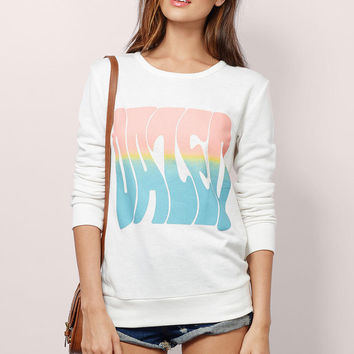 Roller Girl Graphic Sweater