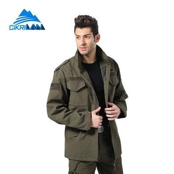Mens Water Resistant Windstopper Chaqueta Hombre Military Tactical Hooded Coat Army Combat Camping Hiking Outdoor Jacket Men