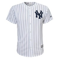 Majestic New York Yankees Replica MLB Jersey - Boys 8-20, Size: