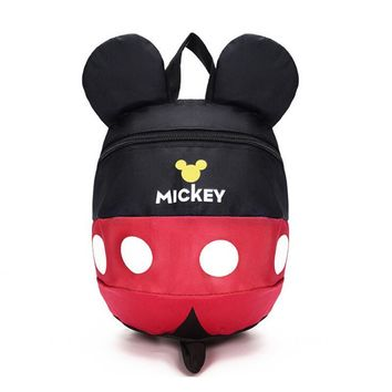 Cartoon Mickey Kid School Backpack Child School Bag For Kindergarten Girl Baby Student School Boy Cute Backpack Book Bag
