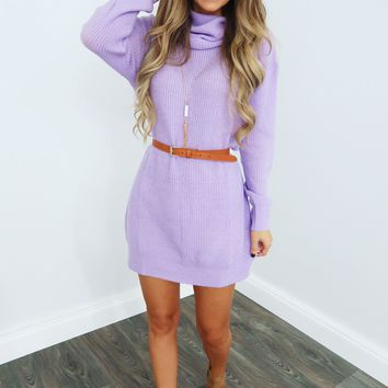Taken By You Dress: Lilac