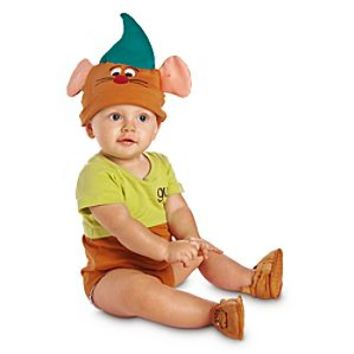 Gus Disney Cuddly Bodysuit Costume Collection for Baby