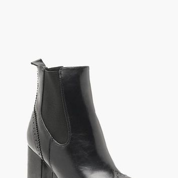 Punch Work Platform Cleated Chelsea Boots | Boohoo