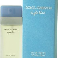 Amazon.com: D & G Light Blue By Dolce & Gabbana For Women. Eau De Toilette Spray 3.4 Ounces: Beauty