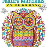 Nature Mandalas Coloring Book by Thaneeya Mcardle (Paperback): Booksamillion.com: Books