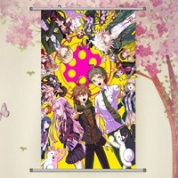 A Wide Variety of Super Dangan Ronpa Anime Characters Wall Scroll Hanging Decor (Trigger Happy Havoc & Goodbye Despair 2)