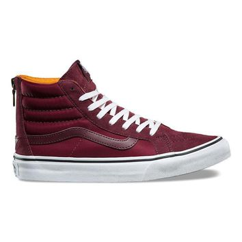 spbest VANS BOOM BOOM SK8-HI SLIM ZIP - PORT ROYALE/TRUE WHITE
