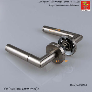 Modern Door Ironmongery Stainless Steel 304 Door HandlesGate HandlesIndustrial Door Lever Handle