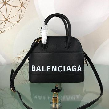 DCCK Balenciaga Trendy graffiti shell bag 26-12-22CM Samll 18-8-15CM Black White